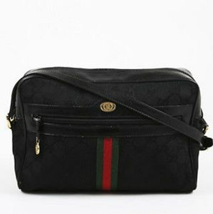 ⭐ 💯 Authentic Gucci black collection bag⭐